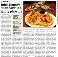 Brick House dining review
