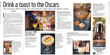 Oscar cocktails story