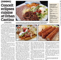 Urban Cantina dining review